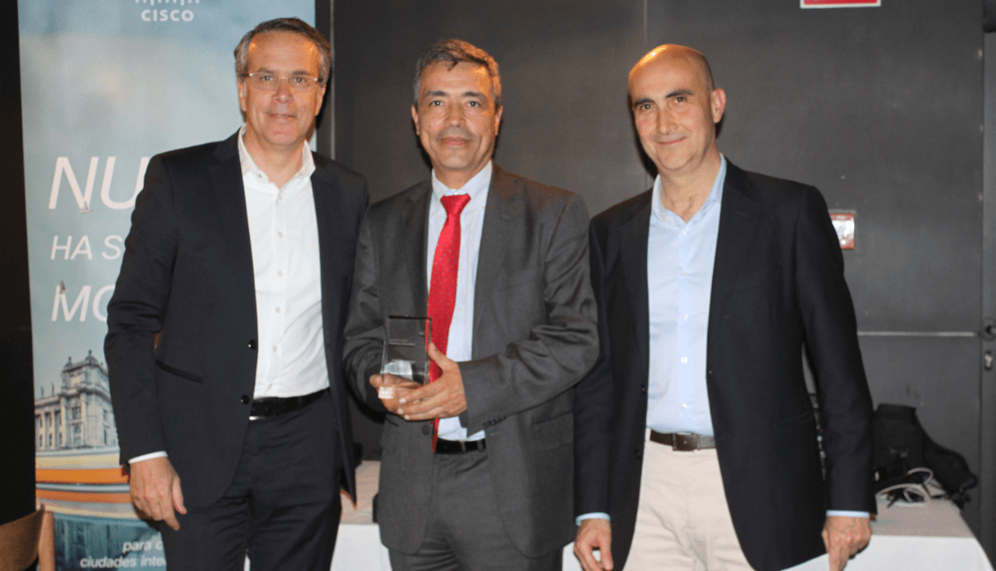 SCC, galardonado con el Premio Cisco Partner Summit España 2015 al Architecture Enterprise Networks Partner of the Year