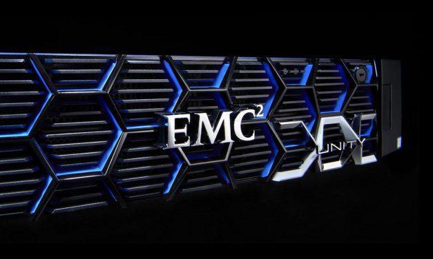 Un vistazo a la línea de almacenamiento EMC Unity