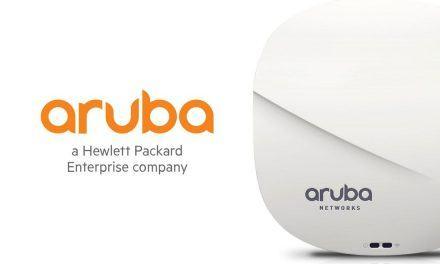 Los puntos de Acceso de Aruba Networks