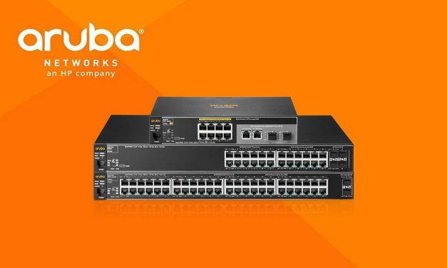 Los switches de Aruba Networks