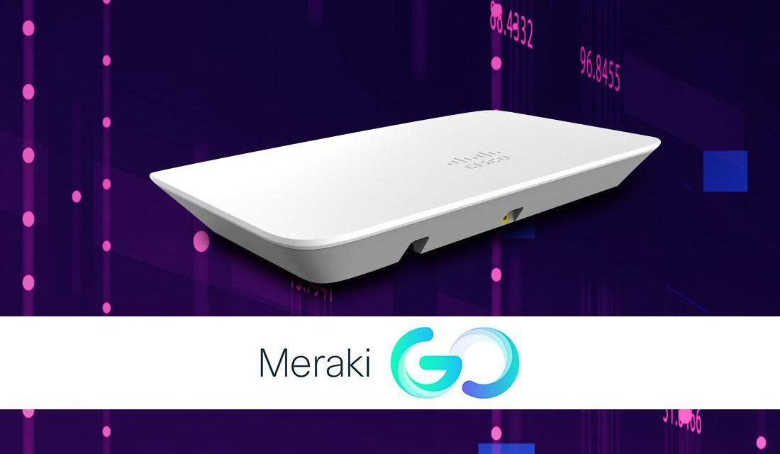 Cisco Meraki Go: WiFi de nivel para pymes