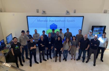 SCC participa en el SPANISH CISCO MERAKI HACKATHON