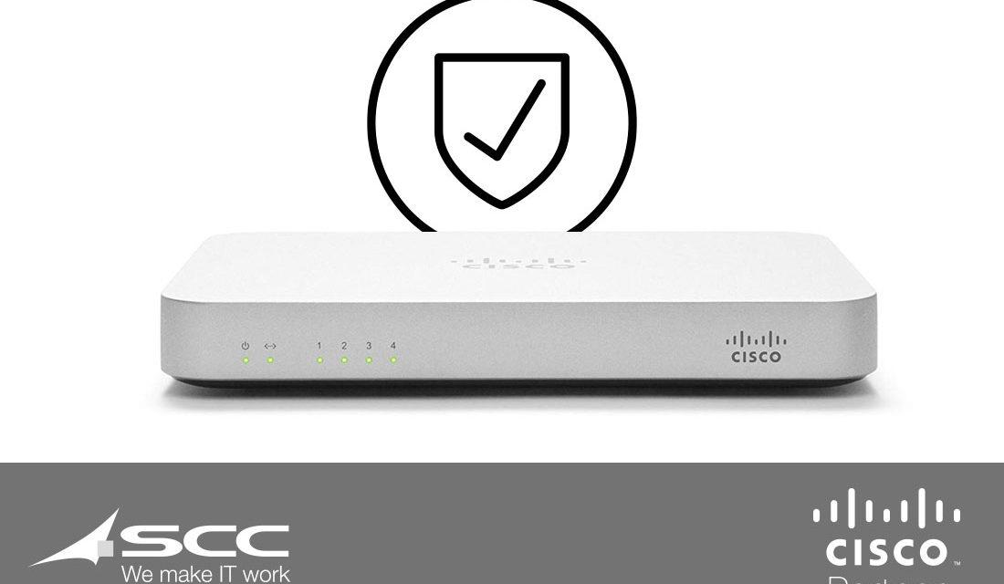 Las características de Cisco Meraki para la seguridad